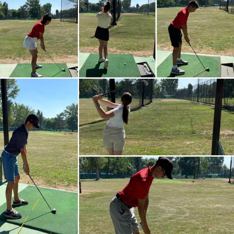 Golf treninzi održani su u Golf klubu Beograd, jul, 2021. godine