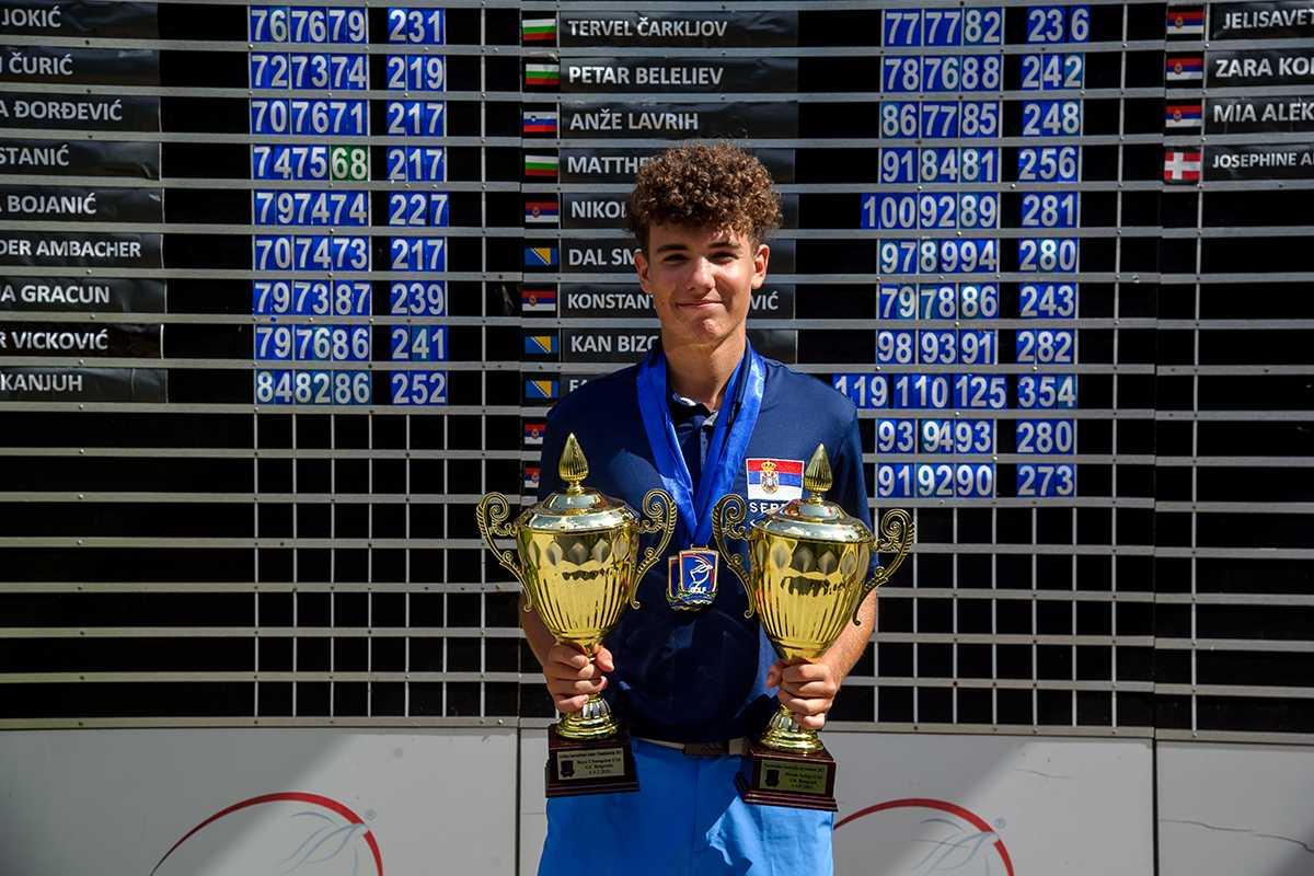 Suturović odbranio duplu titulu juniorskog prvaka Srbije
