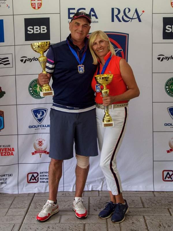 Seniorski Prvaci Srbije – Milan i Svetlana Ranđić